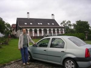 я и машина возле Малого Парижа