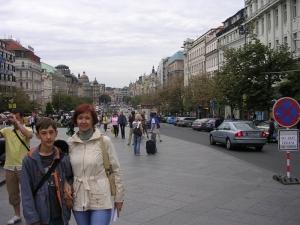 Прага, Вацлавская площадь