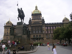 Вацлавская площад в Праге