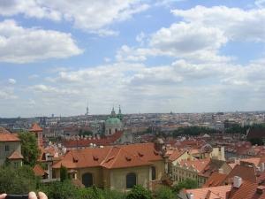 Прага от Пражского Града
