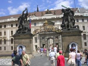 Пражский Град - парадный вход