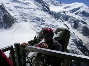 Явление альпиниста народу.