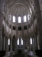 Vezelay, базилика святой Магдалины