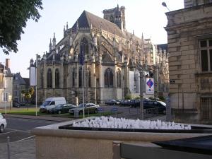 Nevers, кафедральный собор Св.Кира