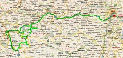 Наши маршруты в Австрии