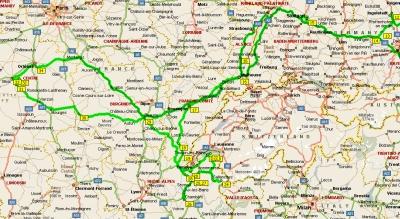 Француские маршруты 2007