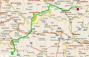 наши дороги в Чехии