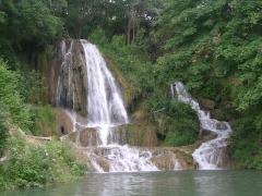 Водопад в Лучках