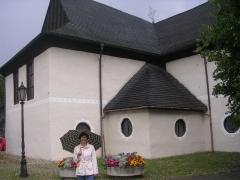 Старинная деревянная церковь в Кежмароке