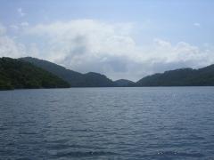 Большое озеро острова Мльет