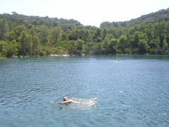 необычайно приятное купание