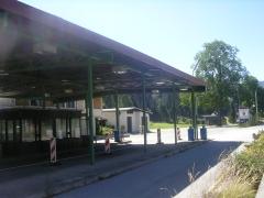 граница Словении с Австрией в августе 2008 г.