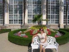 Парк цветов в Кромержиже