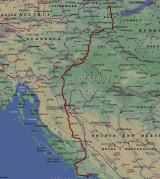 Обратный маршрут по Хорватии.