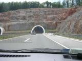Въезд в один из тоннелей