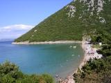 пляж в Divno