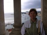 Вид с башни дворца