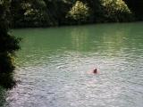 Среди водопадов озера, в которых приятно поплавать