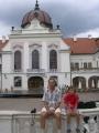 Королевский дворец в Гёдёллё - из парка