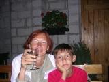 Светлое вино тоже ничего :)