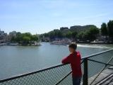 Париж, река Сена, сын и остров Сите