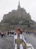 Монастырь Сен Мишель встретил мелким дождем и ветром