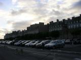 Вокруг крепости в Сен-Мало сплошная парковка