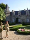 Замок  в Рошфор - ан - Терр, жилая половина