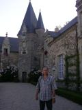 Замок  в Рошфор - ан - Терр, музейная половина