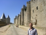 Крепость в Каркассоне
