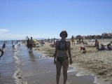 Пляж в Нарбонне