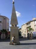 Нарбонн, питьевой фонтанчик на площади
