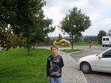 Случай на стоянке на автобане в Германии