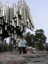 Хельсинки, памятник Сибелиусу