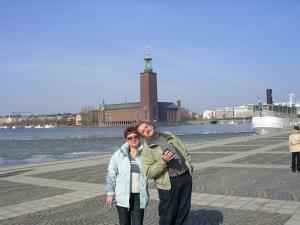 Стокгольм, хорошо то как...