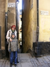 Стокгольм, самая узкая улочка